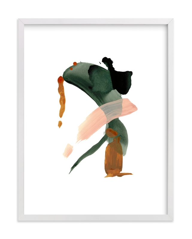 Calm Forest No. 20 Art Print