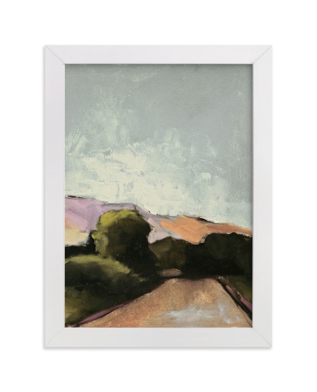 """""""Road Trip 2"""" - Limited Edition Art Print by Lynne Millar in beautiful frame options and a variety of sizes."""