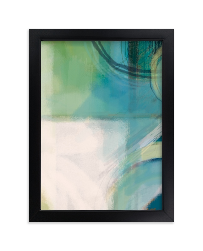 """""""Crevice"""" - Limited Edition Art Print by Alison Jerry Designs in beautiful frame options and a variety of sizes."""