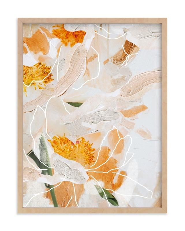 Painted Peonies Art Print