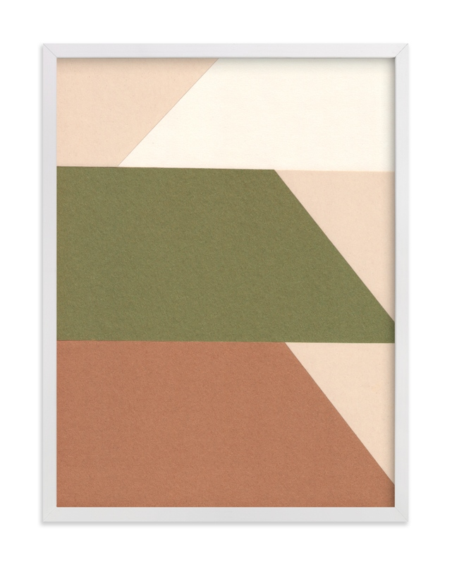 """""""Trapezoids"""" - Limited Edition Art Print by Elliot Stokes in beautiful frame options and a variety of sizes."""