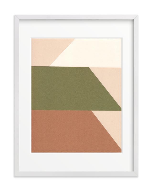 Trapezoids Art Print