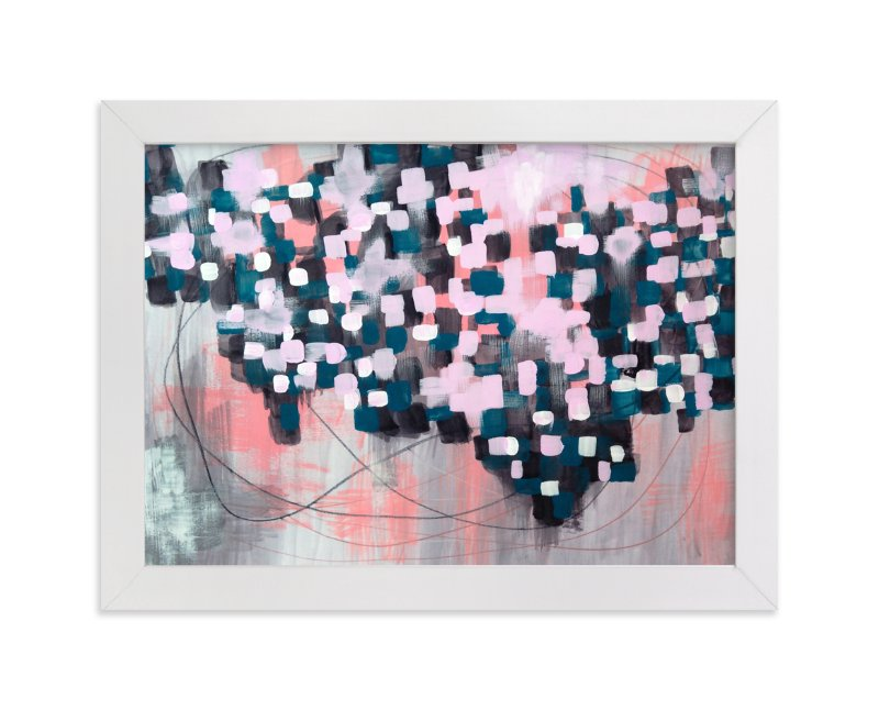 """Mapped"" - Limited Edition Art Print by Denise Wong in beautiful frame options and a variety of sizes."