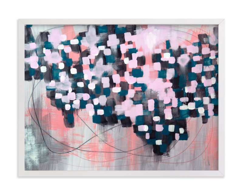 """""""Mapped"""" - Limited Edition Art Print by Denise Wong in beautiful frame options and a variety of sizes."""