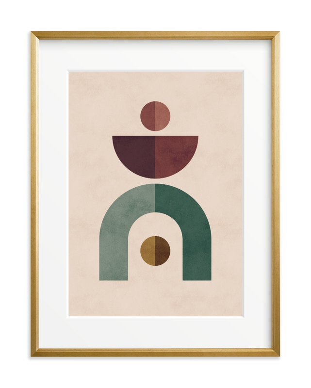 Geometric 1 Art Print