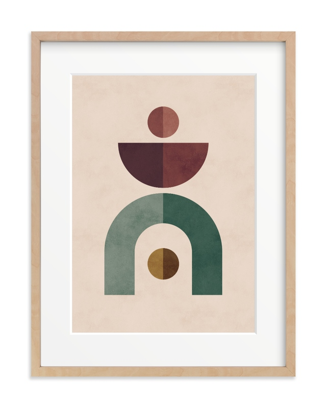 Geometric 1 Children's Art Print