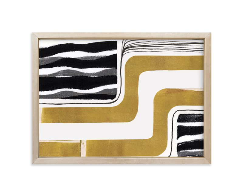 """""""Skip Waves"""" - Limited Edition Art Print by Bethania Lima in beautiful frame options and a variety of sizes."""