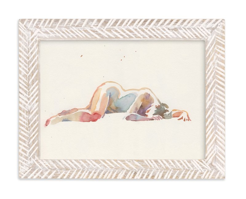 """""""Melancolia"""" - Limited Edition Art Print by Catilustre in beautiful frame options and a variety of sizes."""