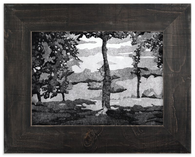 """""""North Carolina"""" - Limited Edition Art Print by Adelina S. Keenan in beautiful frame options and a variety of sizes."""