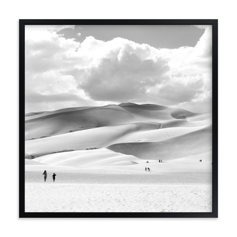 """""""Dunes"""" - Limited Edition Art Print by Calais A Le Coq in beautiful frame options and a variety of sizes."""