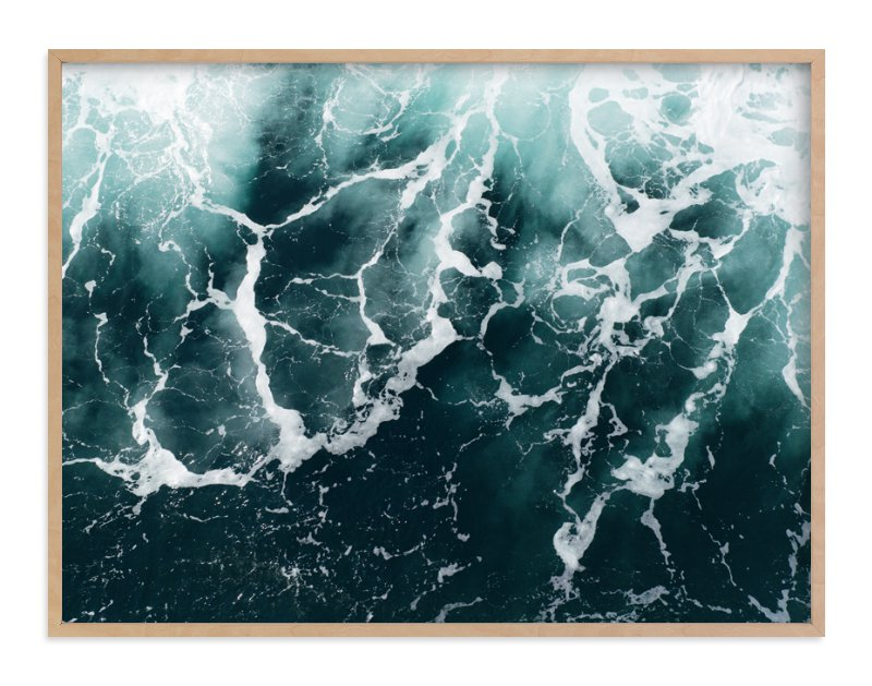 """Wave Patterns"" - Limited Edition Art Print by Tommy Kwak in beautiful frame options and a variety of sizes."