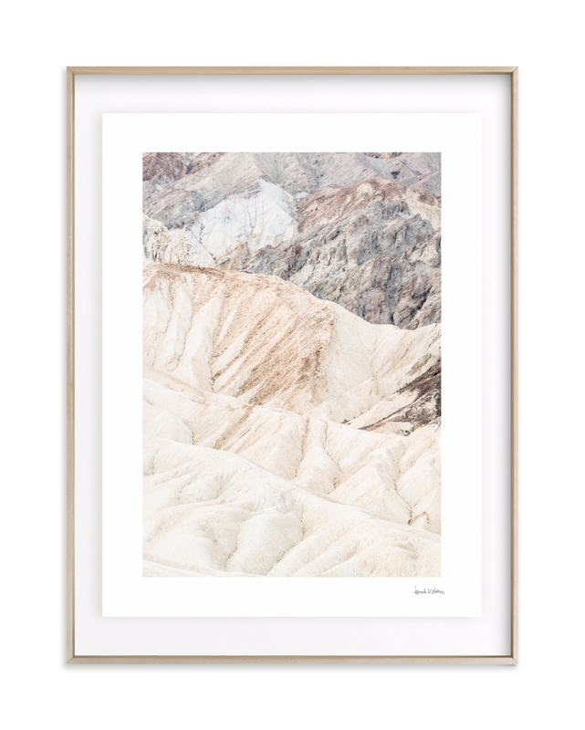 White Canyon Art Print