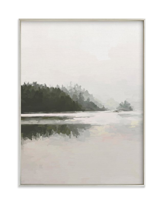 """LakeView II"" - Limited Edition Art Print by Amy Hall in beautiful frame options and a variety of sizes."