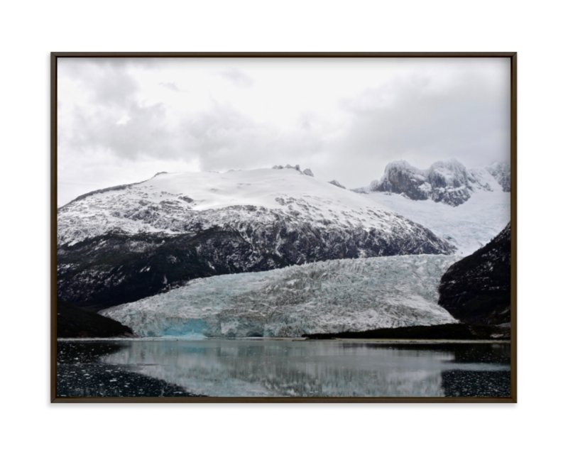"""""""Ice Field"""" - Limited Edition Art Print by Jeff Vilkin in beautiful frame options and a variety of sizes."""