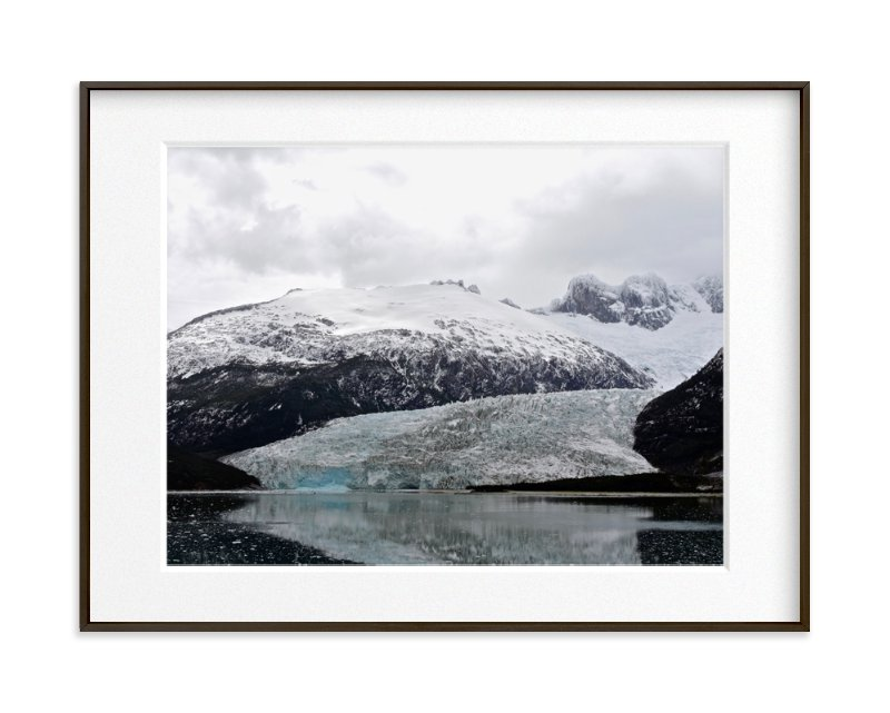 Ice Field Art Print