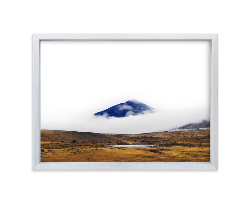 """""""Dressed in Blue"""" - Limited Edition Art Print by Tania View in beautiful frame options and a variety of sizes."""