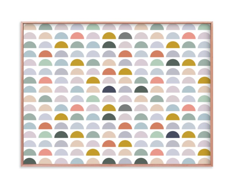 """""""Spectrum Tiles"""" - Limited Edition Art Print by Katharine Watson in beautiful frame options and a variety of sizes."""