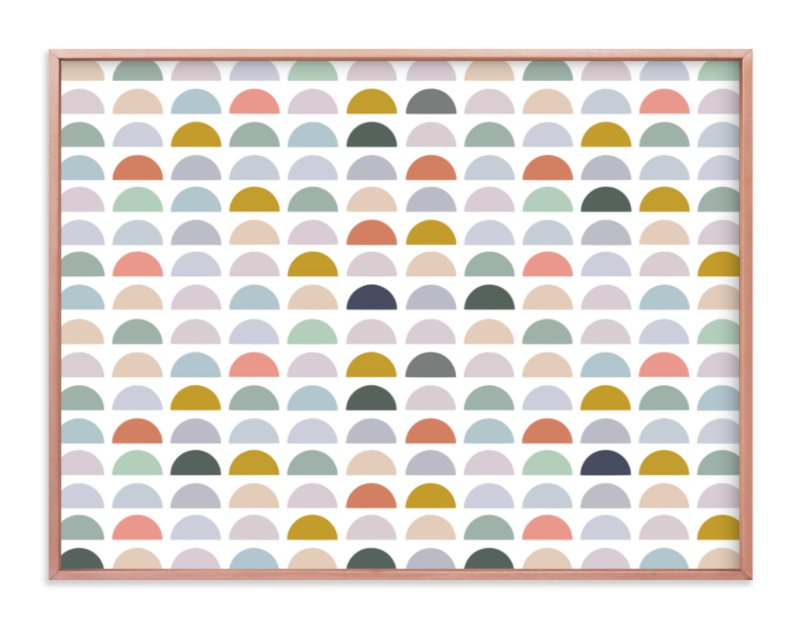 """Spectrum Tiles"" - Limited Edition Art Print by Katharine Watson in beautiful frame options and a variety of sizes."