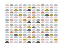 Spectrum Tiles Art Print