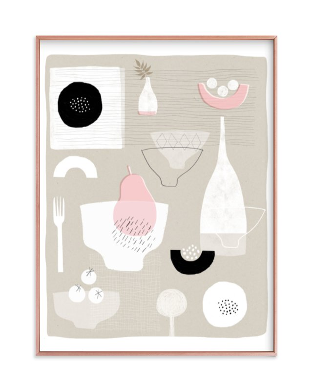 """""""Invited"""" - Limited Edition Art Print by Francesca Iannaccone in beautiful frame options and a variety of sizes."""