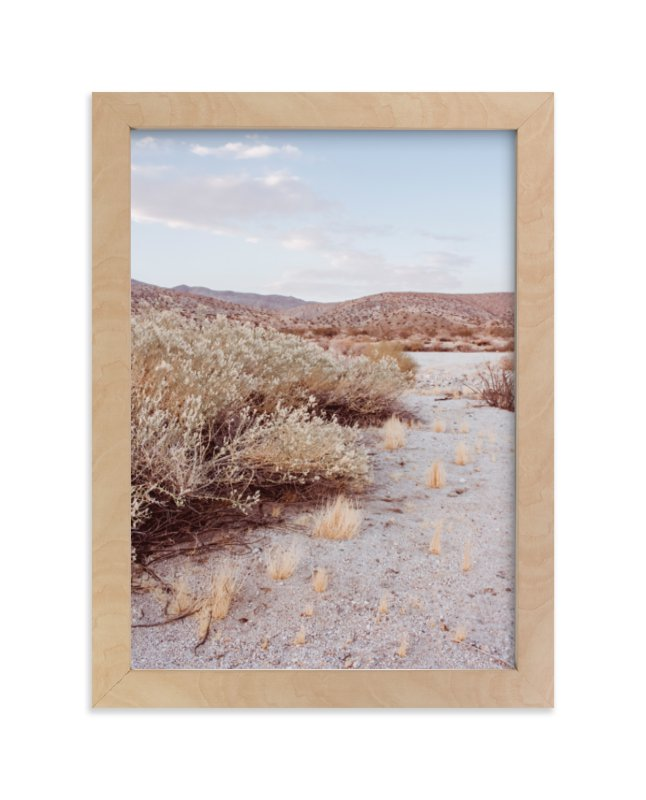 """""""Desert Hot Springs Study 4"""" - Limited Edition Art Print by Lisa Sundin in beautiful frame options and a variety of sizes."""