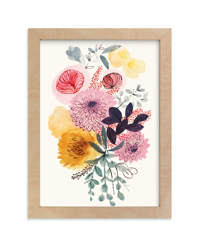 """""""Gathered 3"""" - Limited Edition Art Print by Victoria Johnson in beautiful frame options and a variety of sizes."""