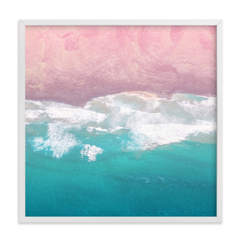 """""""Secret Cove"""" - Limited Edition Art Print by Jessica C. Nugent in beautiful frame options and a variety of sizes."""