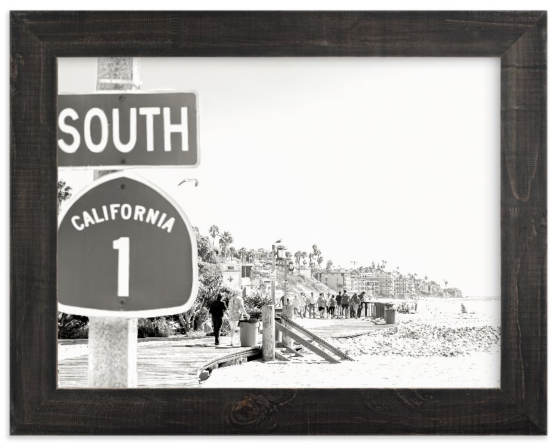 """""""Hwy One"""" - Limited Edition Art Print by Esther Lane in beautiful frame options and a variety of sizes."""