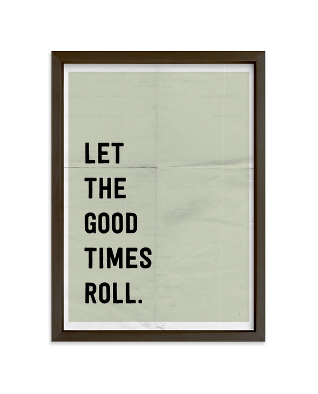 """Let the Good Times Roll"" - Limited Edition Art Print by Morgan Kendall in beautiful frame options and a variety of sizes."