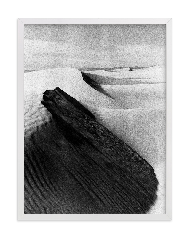 """""""Sand Dunes"""" - Limited Edition Art Print by Cade Cahalan in beautiful frame options and a variety of sizes."""