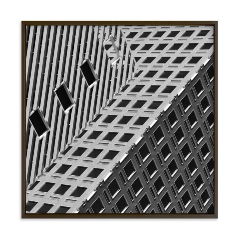 """""""Squares and Lines"""" - Limited Edition Art Print by Brian Collins in beautiful frame options and a variety of sizes."""