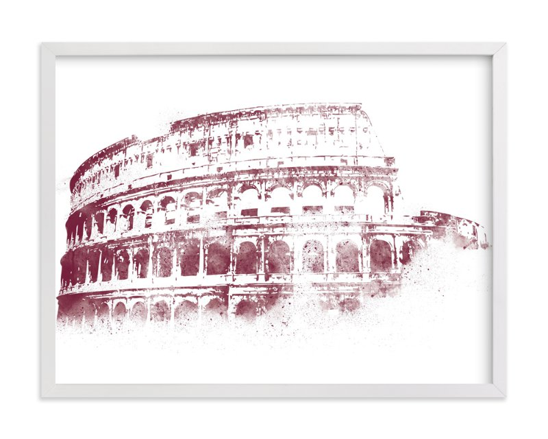 """Colosseum"" - Limited Edition Art Print by Paul Berthelot in beautiful frame options and a variety of sizes."