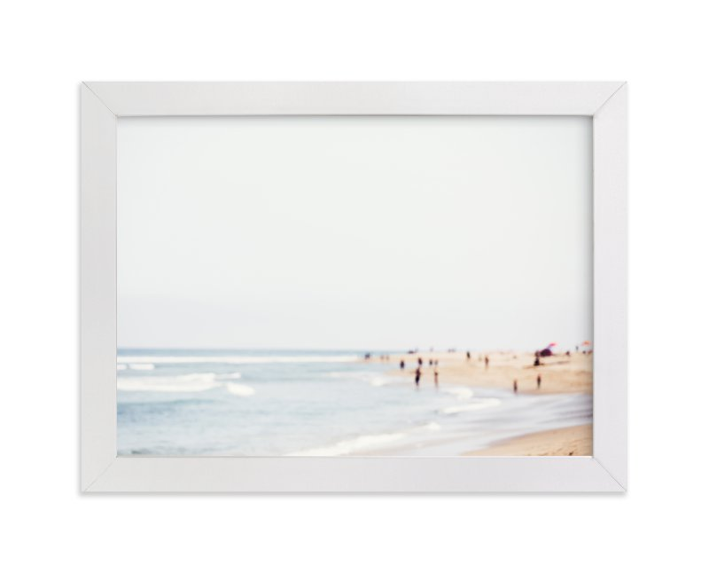 """""""Malibu"""" - Limited Edition Art Print by Vera Mladenovic in beautiful frame options and a variety of sizes."""