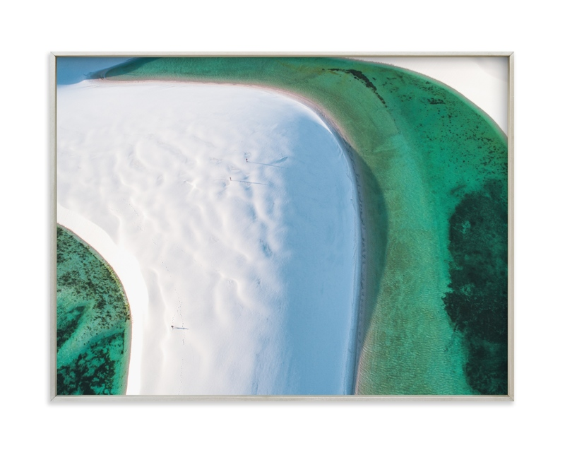 """The Emerald Lagoon"" - Limited Edition Art Print by Benno and Noosa in beautiful frame options and a variety of sizes."