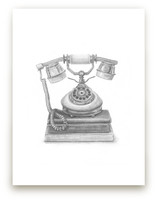Vintage Telephone by Lauren Weiss