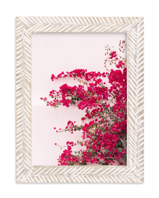 """""""Bright Bougainvillea"""" - Limited Edition Art Print by The One With Wanderlust in beautiful frame options and a variety of sizes."""