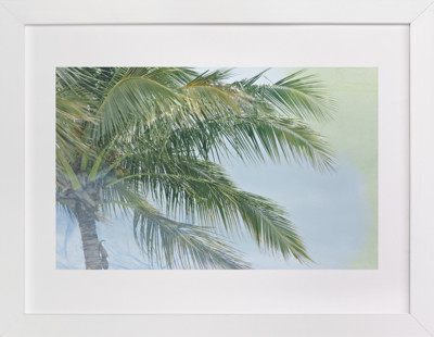Palm Tree Abstract Art Print