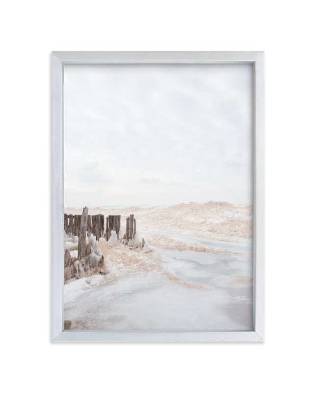 """Iced Lake"" - Limited Edition Art Print by jessi gilbert in beautiful frame options and a variety of sizes."