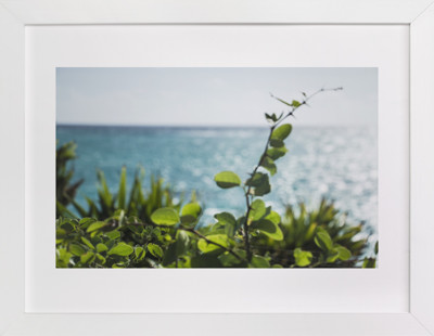 Sea Through Art Print