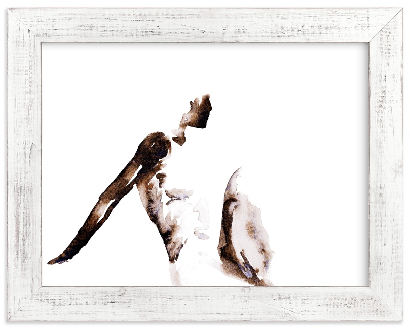 """""""Body"""" - Limited Edition Art Print by Belia Simm in beautiful frame options and a variety of sizes."""