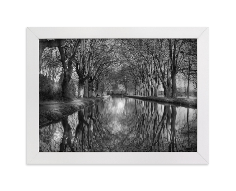 """""""Canal"""" - Limited Edition Art Print by Fred Bedat in beautiful frame options and a variety of sizes."""