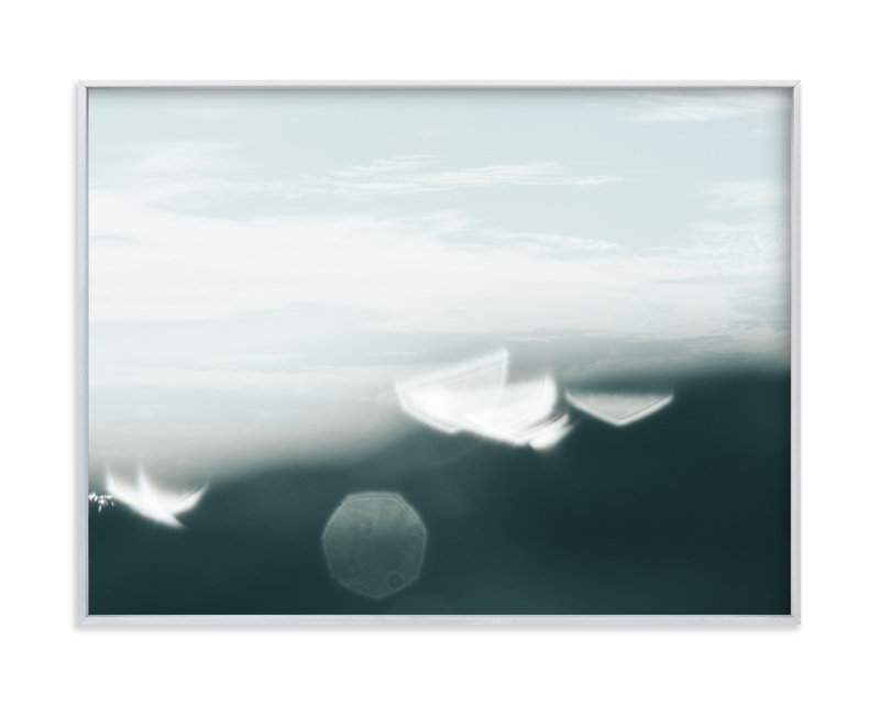 """""""Surface Tension 1"""" - Limited Edition Art Print by Kamala Nahas in beautiful frame options and a variety of sizes."""
