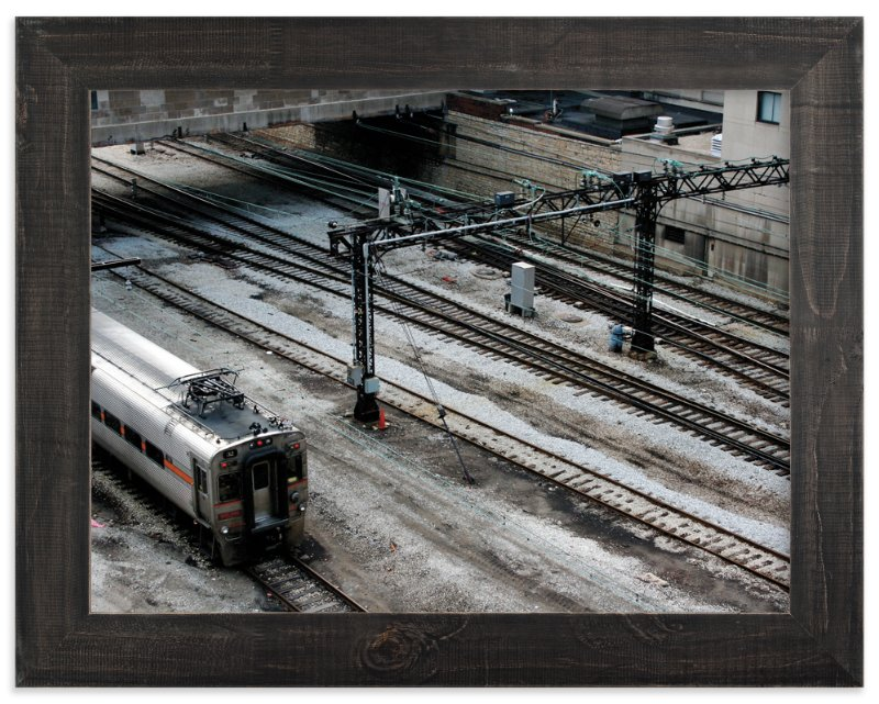"""""""Down by the Train Yard"""" - Limited Edition Art Print by AJD in beautiful frame options and a variety of sizes."""