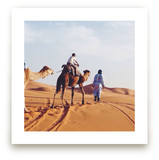 A boy and his camel by AMK