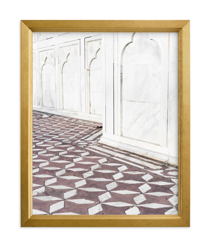 """Palace Walk 2"" - Limited Edition Art Print by Kamala Nahas in beautiful frame options and a variety of sizes."