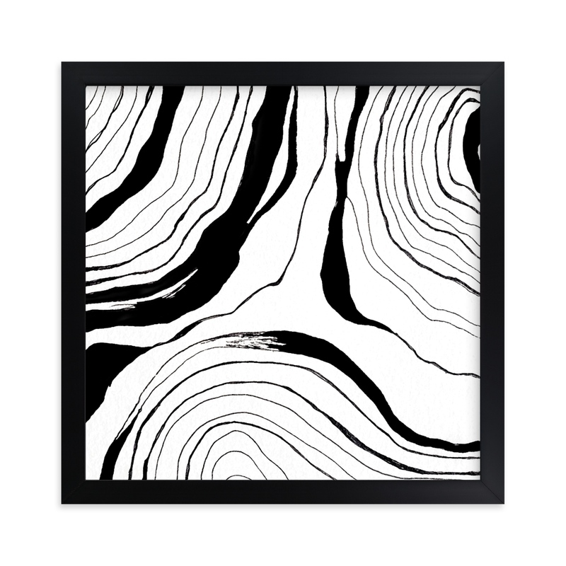 """""""Story Lines (Two)"""" - Limited Edition Art Print by Hannah Lipking in beautiful frame options and a variety of sizes."""