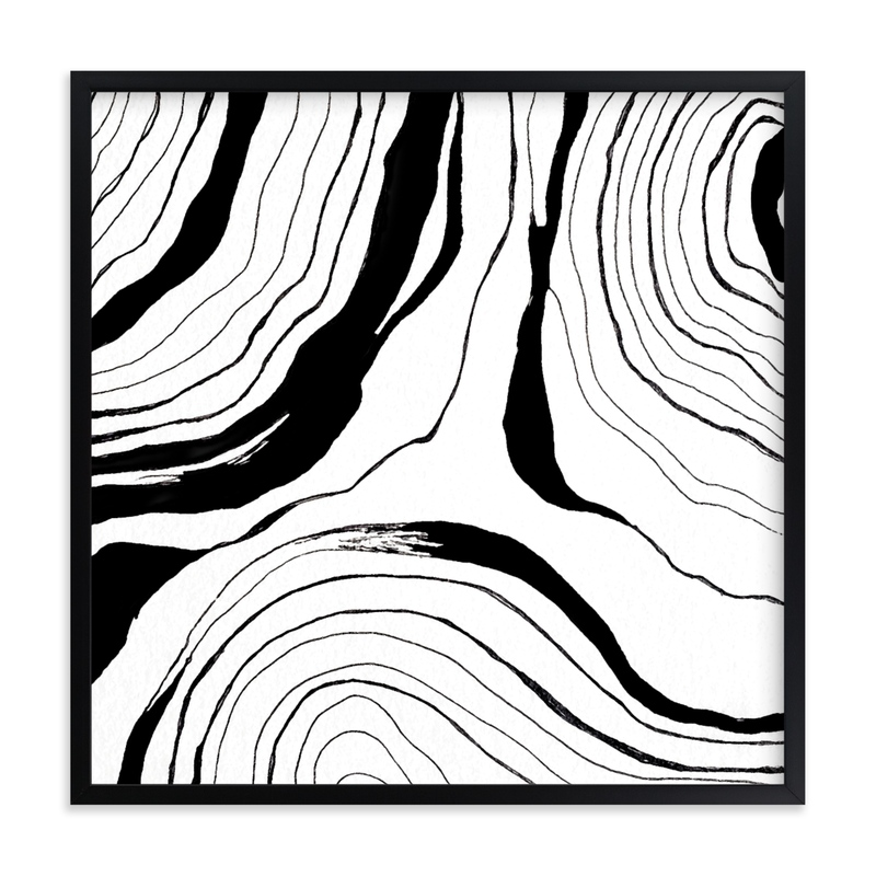 Story Lines (Two) Art Print