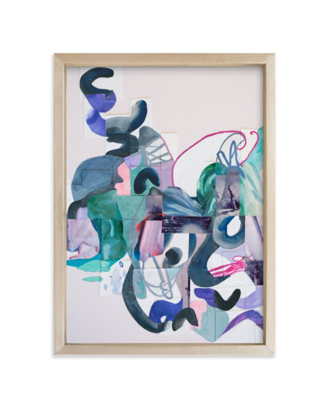 """""""Pinks and Greens"""" - Limited Edition Art Print by Erin McCluskey Wheeler in beautiful frame options and a variety of sizes."""