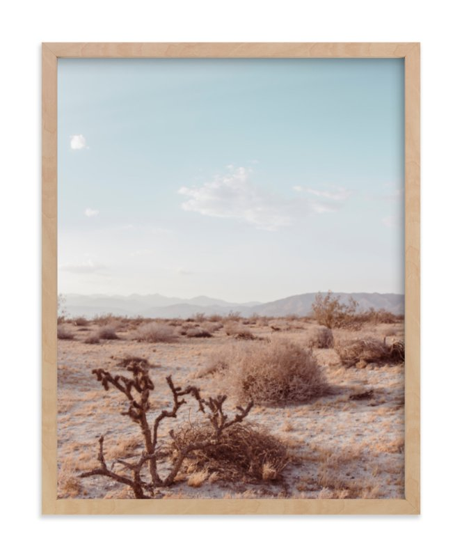 """Desert Hot Springs Study 3"" - Limited Edition Art Print by Lisa Sundin in beautiful frame options and a variety of sizes."