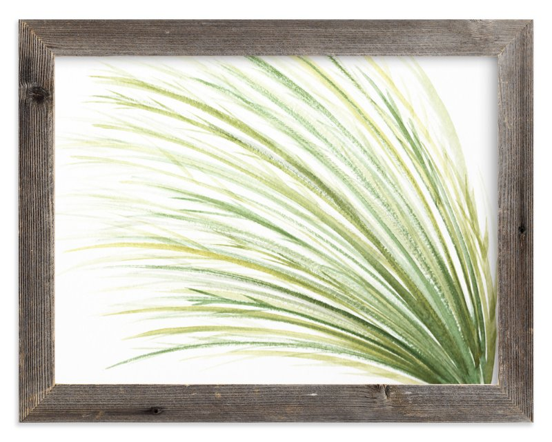 """""""Tall Grass Watercolor"""" - Limited Edition Art Print by Loree Mayer in beautiful frame options and a variety of sizes."""